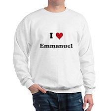 I love Emmanuel Sweatshirt