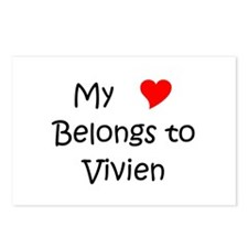 Vivien Postcards (Package of 8)