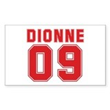 DIONNE 09 Rectangle Decal