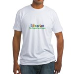 Librarian - Original Search Engine Fitted T-Shirt
