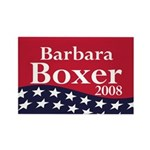 Barbara Boxer 2008 Refrigerator Magnet