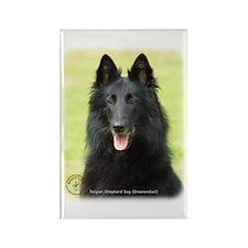 Belgian Shepherd (Groenendael) Rectangle Magnet