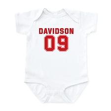 DAVIDSON 09 Infant Bodysuit