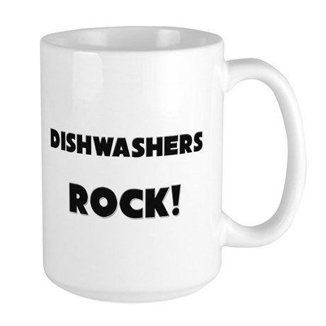 Dishwashers ROCK Large Mug