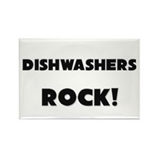 Dishwashers ROCK Rectangle Magnet