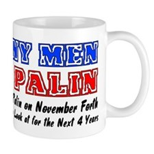 Horny men for Palin Mug