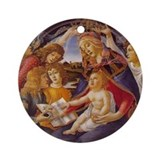 Madonna the Magnificat Christmas Ornament