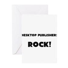 Desktop Publishers ROCK Greeting Cards (Pk of 10)