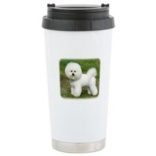 Bichon Frise 9A063D-05 Ceramic Travel Mug