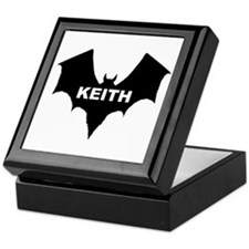 BLACK BAT KEITH Keepsake Box