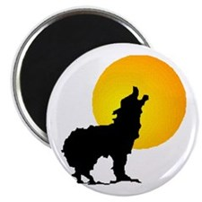 "Howl at the Moon 2.25"" Magnet (10 pack)"
