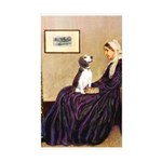 WMom / Beagle (#2) Sticker (Rectangle 50 pk)