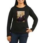 WMom / Beagle (#2) Women's Long Sleeve Dark T-Shir