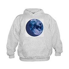 Celtic Knotwork Blue Moon Hoodie