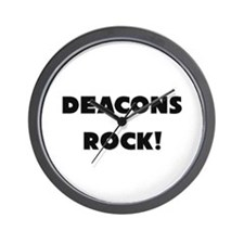 Deacons ROCK Wall Clock