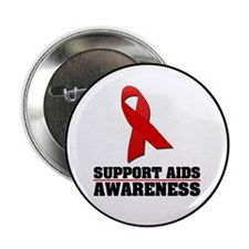 "AIDS Awareness 2.25"" Button (10 pack)"