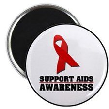 "AIDS Awareness 2.25"" Magnet (10 pack)"