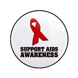 "AIDS Awareness 3.5"" Button (100 pack)"