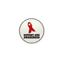 AIDS Awareness Mini Button (100 pack)