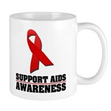 AIDS Awareness Mug