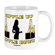 Nipple Up Nipple Down Mug