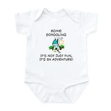 Cute Homeschooler Infant Bodysuit