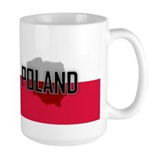 Flag of Poland Extra Mug