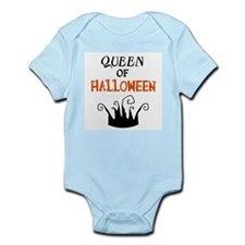 Queen of Halloween Infant Bodysuit