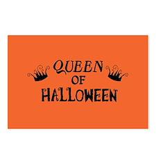 Queen of Halloween Postcards (Package of 8)