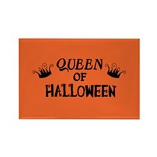 Queen of Halloween Rectangle Magnet (10 pack)