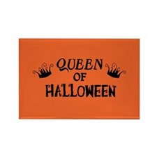 Queen of Halloween Rectangle Magnet