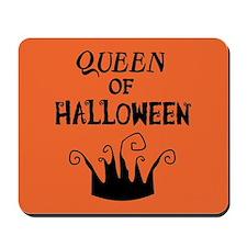 Queen of Halloween Mousepad