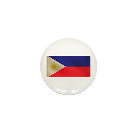 Filipino flag Mini Button (100 pack)