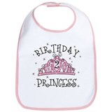 Tiara Birthday Princess 2nd Bib