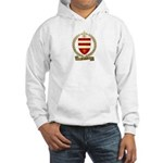 FOUBERT Family Crest Hooded Sweatshirt