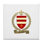 FOUBERT Family Crest Tile Coaster