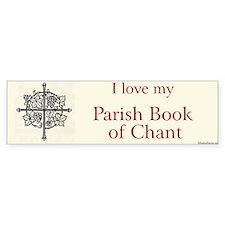 Parish Book of Chant Bumper Bumper Sticker