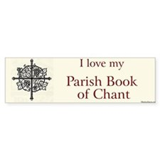 Parish Book of Chant Bumper Bumper Stickers
