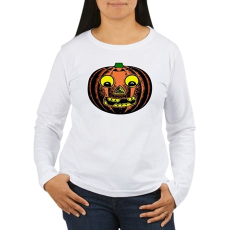 Vintage Jack-O-Lantern Women's Long Sleeve T-Shirt