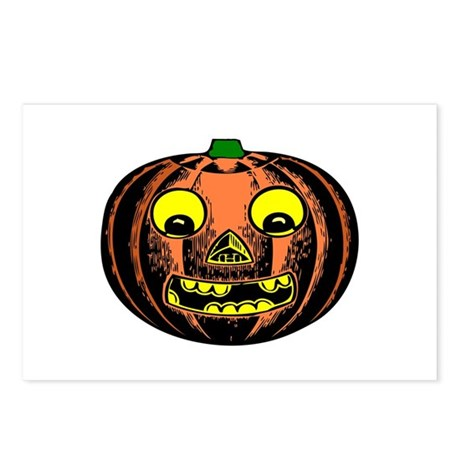 Vintage Jack-O-Lantern Postcards (Package of 8)