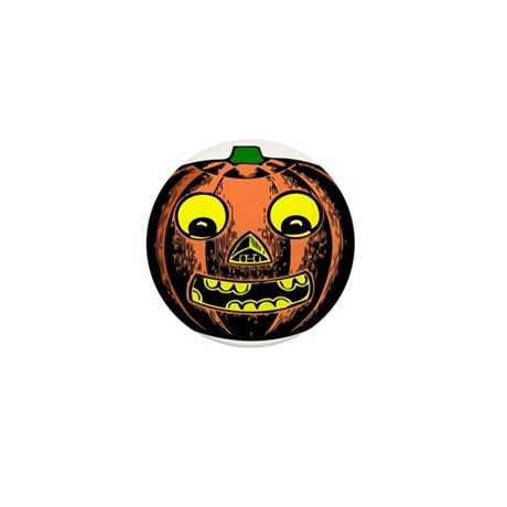 Vintage Jack-O-Lantern Mini Button (100 pack)