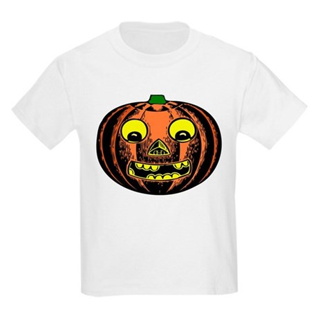 Vintage Jack-O-Lantern Kids Light T-Shirt