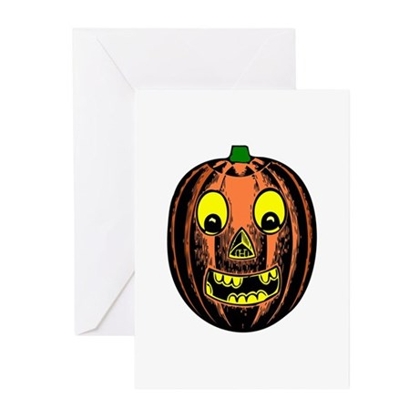 Vintage Jack-O-Lantern Greeting Cards (Pk of 10)