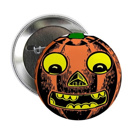 "Vintage Jack-O-Lantern 2.25"" Button (100 pack)"