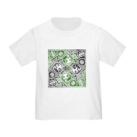 Celtic Puzzle Square Toddler T-Shirt