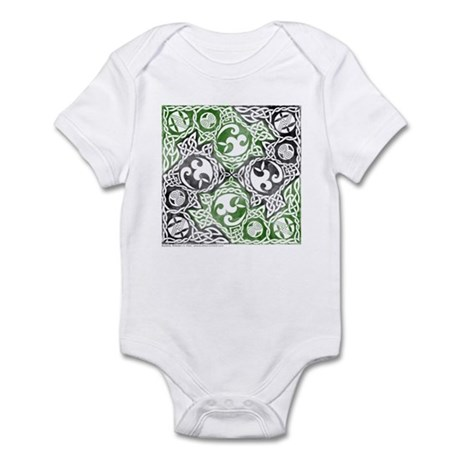 Celtic Puzzle Square Infant Bodysuit