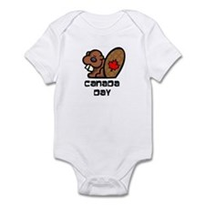 Canada Day Beaver Infant Bodysuit