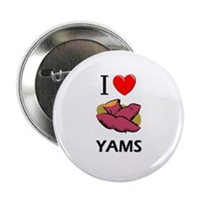 "I Love Yams 2.25"" Button"