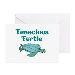 Tenacious Turtle Greeting Cards (Pk of 10)