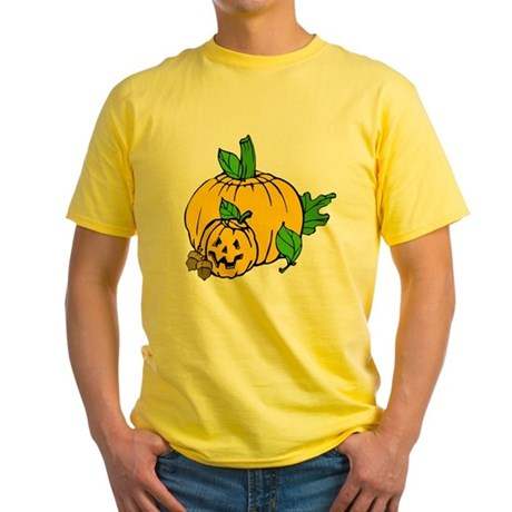 Jack 0 Lantern Yellow T-Shirt